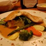 Chilean Sea Bass with Curry Lobster Sauce