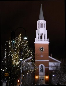 Church and lights