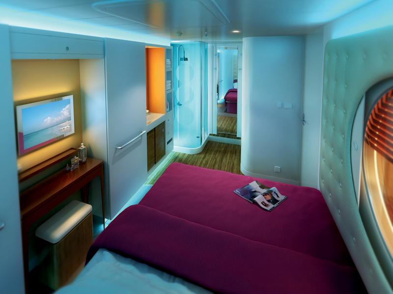 Ncl creates staterooms for solo travelers for Which cruise line has single cabins