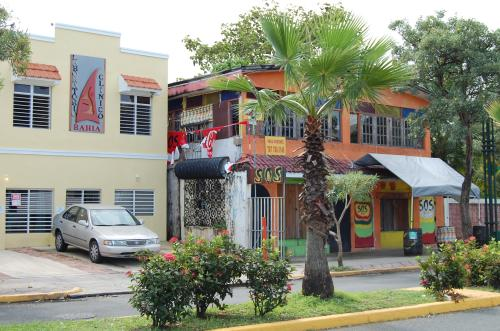 Catano street facing Bacardi factory