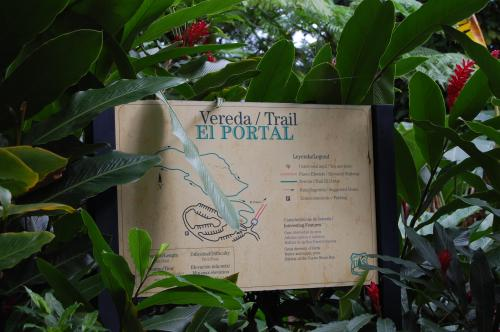 El Portal trail map