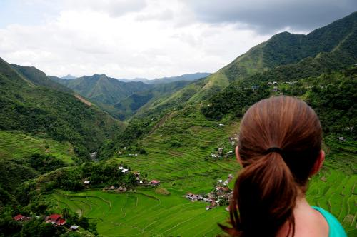 Overlooking Batad The Philippines