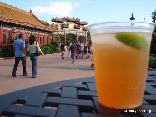 Plum Wine Drink in China