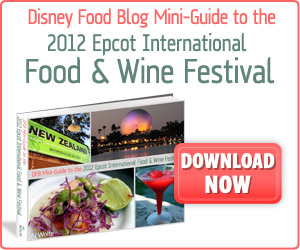 Mini Guide to Epcot Food & Wine Festival