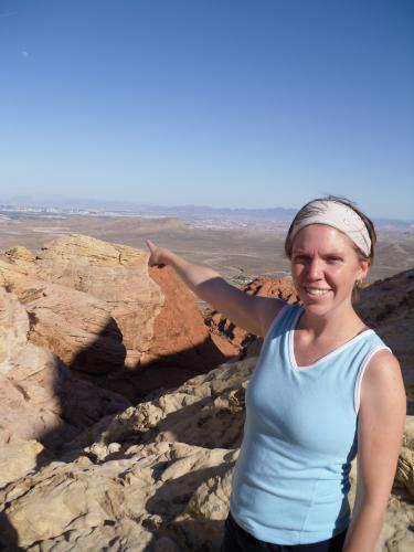 Hiking at Red Rock Canyon
