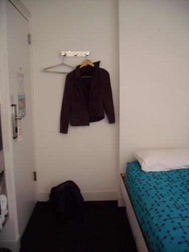 Where you hang your clothes, Pod single room