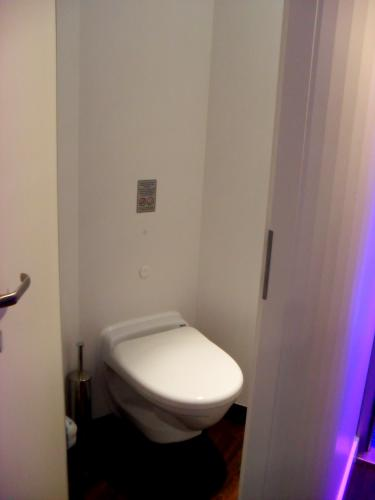 Toilet area in Studio Stateroom