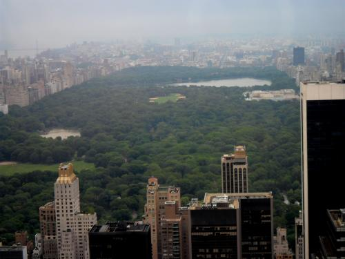 Central Park from Top of the Rock