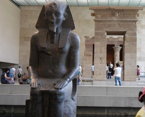 Egyptian temple at the Met