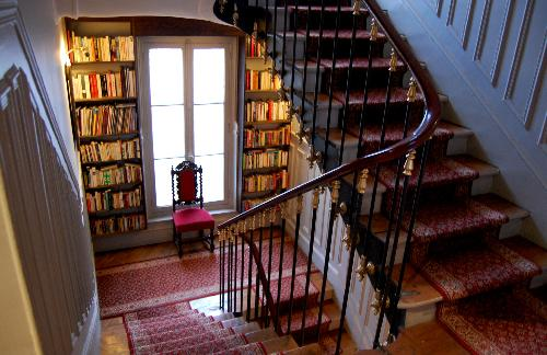 Books for visitors to read