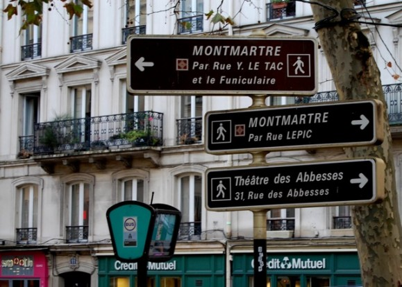 Montmartre Signs