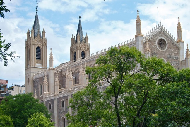 Post image for Snapshot of Madrid: San Jerónimo el Real Church
