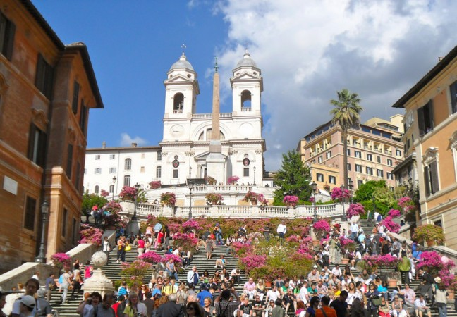 Post image for Slowing Down on the Spanish Steps
