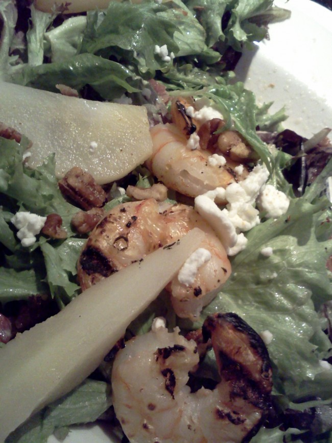 Shrimp Pear Salad