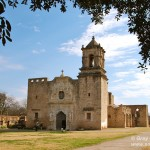 On the Spanish Mission Trail in San Antonio
