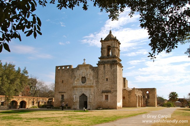 Post image for On the Spanish Mission Trail in San Antonio