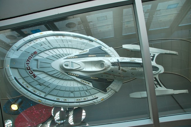 USS Enterprise at the Scotiabank Theatre