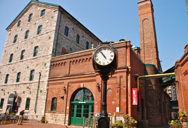 Post image for Toronto's Distillery District in Photos
