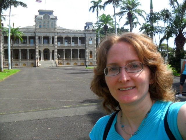 At Iolani Palace