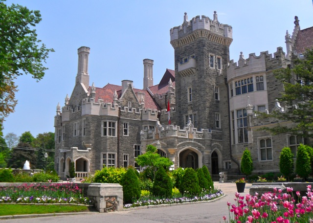 Toronto 39 s castle casa loma for Casa loma mansion toronto