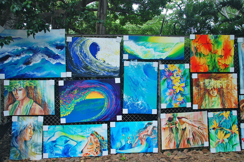 Post image for Art on the Zoo Fence in Waikiki