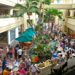 The Hyatt Regency Farmers Market in Waikiki