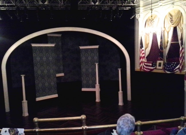 Fords Theater stage